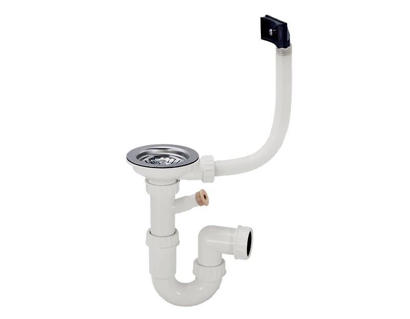 Plumbing kit for one-bowl kitchen sinks: Ø114 Multi Ray basket ...