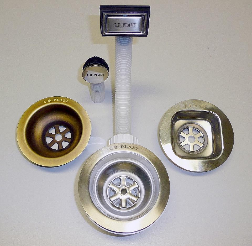 Herstellung von Ablauf-überlaufgarnituren für Küchenspülen - L.B. ...
