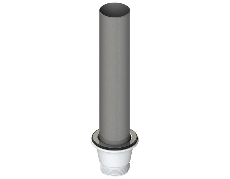Ablaufventil Ø 70 mit Edelstahl-Standrohr (Ø50-300mm). Art.-Nr ...